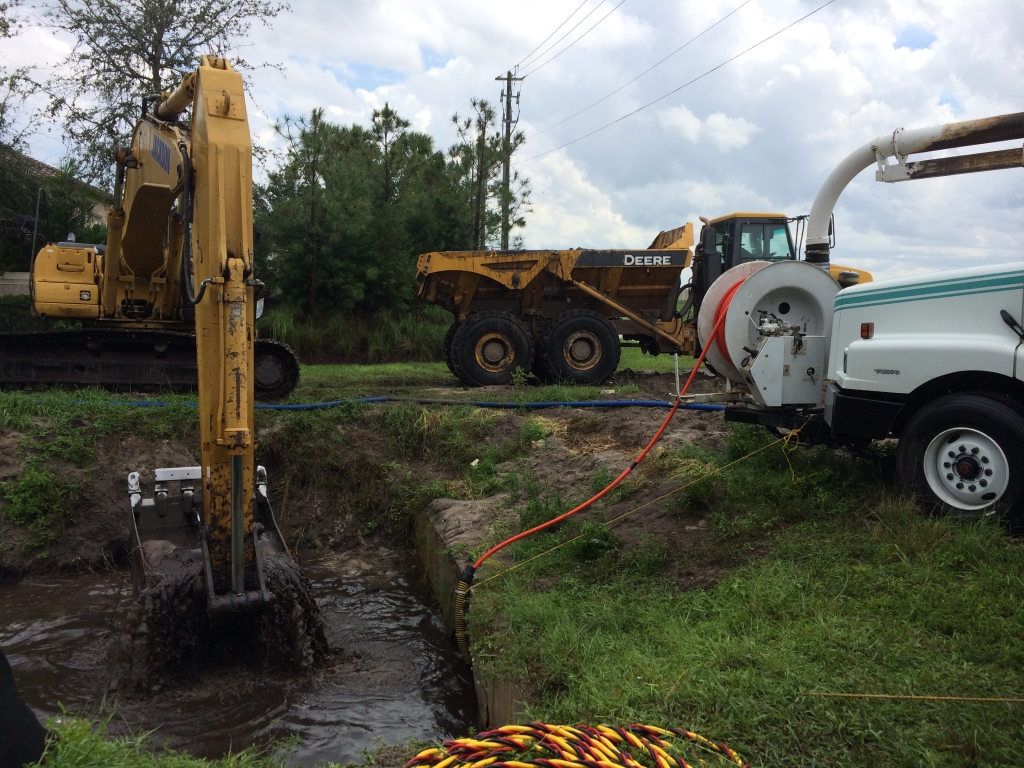 Culvert Cleaning Services : Cobra environmental large diameter pipe and culvert cleaning